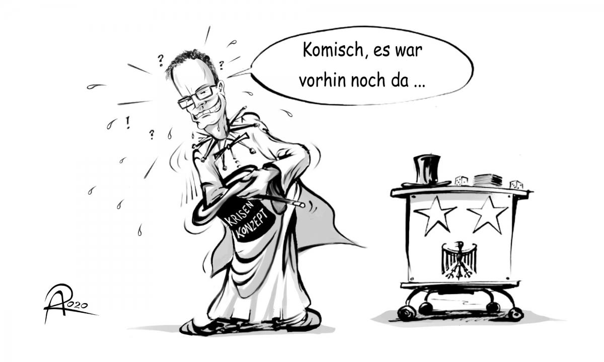 Im Krisenmanagement der Corona-Pandemie zeigt die Bundesregierung um Gesundheitsminister Jens Spahn große Lücken.