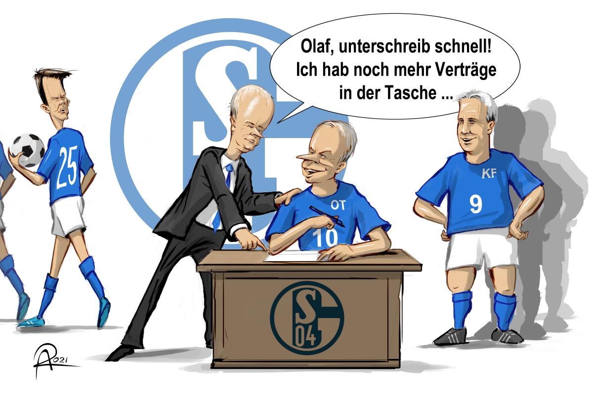 Mit Klaas Jan Huntelaar und Sead Kolasinac verpflichtet Schalke 04 in der Krise Stars aus besseren Zeiten.
