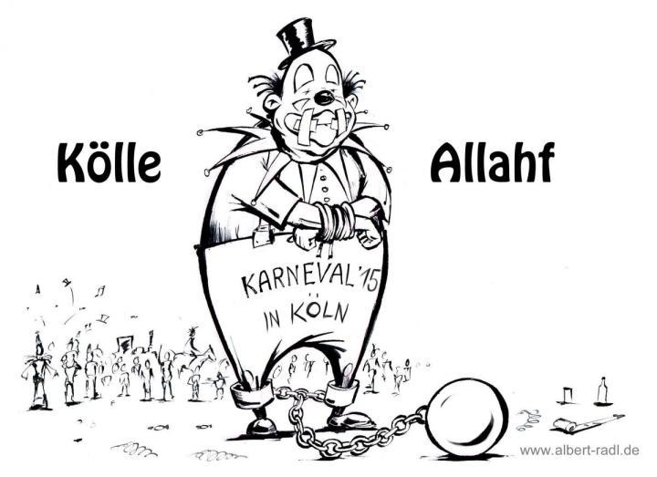 Aus Angst vor islamistischen Anschlägen wird in Köln das Thema Torror und Islamismus umgangen.