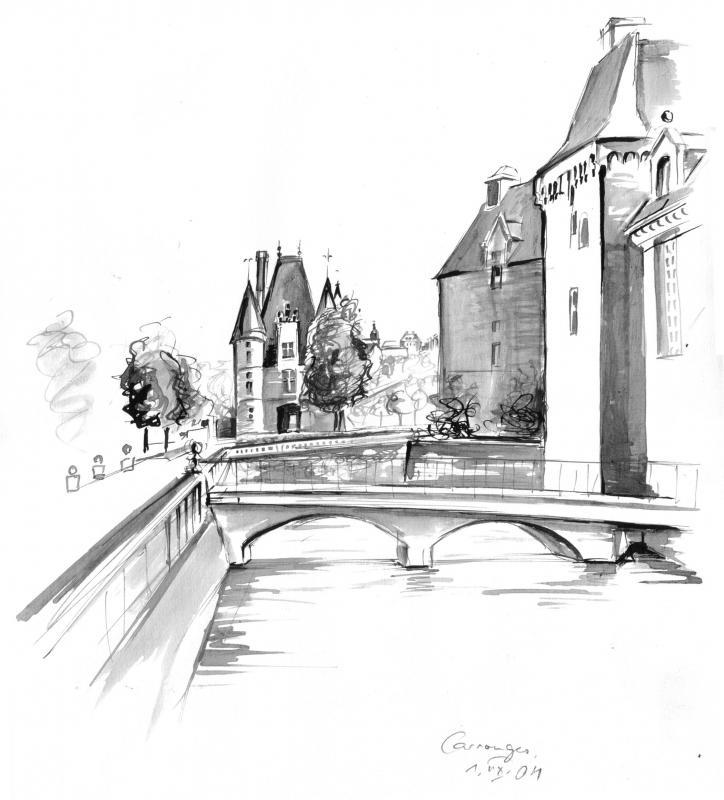 01.08.2004: Carrouges, France