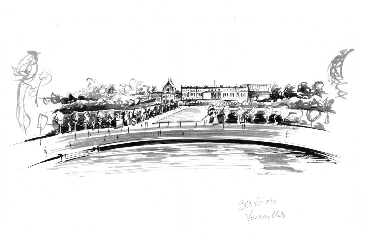 30.07.2004: Versailles, France
